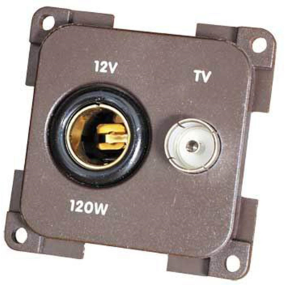 CBE GREY V TV SOCKET