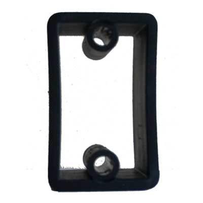 FAWO GAS BOTTLE BRACKET SPACER BLACK PLASTIC