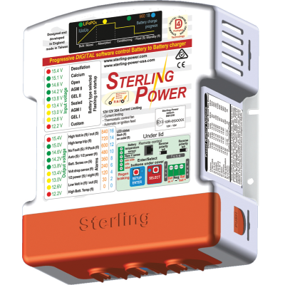 STERLING BATTERY TO BATTERY AMP CHARGER